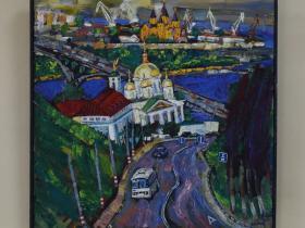 """М. Поляков - """"Похвалинский съезд"""" (2011 г., х., м.)"""